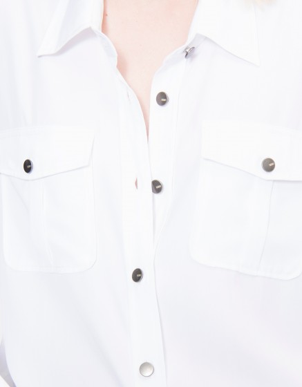 Chemise fluide Carlyne - WHITE