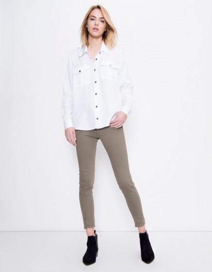 Flow shirt Carlyne - WHITE