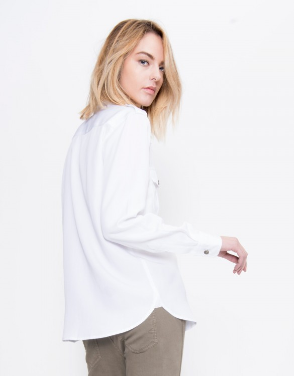 Flow shirt Carlyne - WHITE
